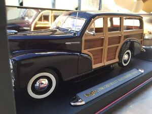 1:18 1948 Chevrolet Chevy Fleetmaster (woody) metal model car