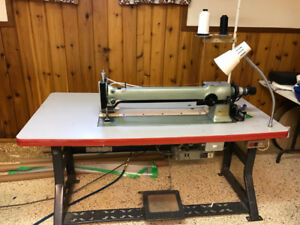 Industrial Sewing Machine, Long Arm Zig Zag