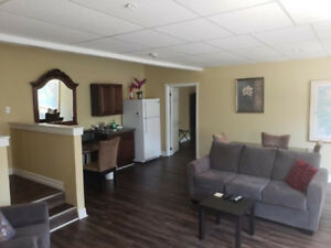 Furnished one bedroom downtown all inclusive.