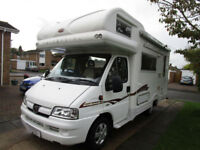 2006 Autocruise Marquis Stargazer Four Berth End Kitchen Motorhome for Sale Ref