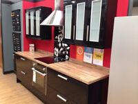 New Ex-display kitchen including appliances