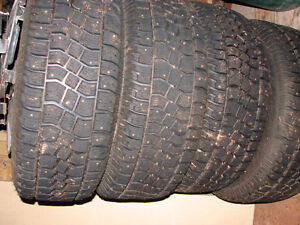ford f150 studded tires and rims