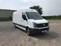 Volkswagen Crafter 2.0 Tdi 136Ps High Roof Van LWB DIESEL MANUAL WHITE (2016)
