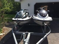 1999 Yamaha 1200 cc wave runners for sale