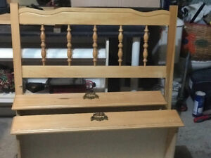 Twin complete Bed with 2 storage drawers!