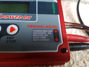 2 Thunder power Tp610c RC Battery chargers