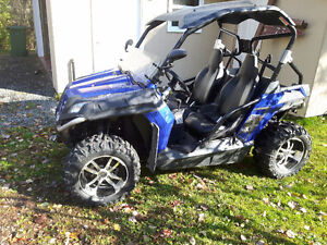 2011 cfmoto snyper side by side with or without plow