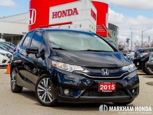 2015 Honda Fit EX-L Navi - NO ACCIDENTS|1OWNER|SUNROOF|LEAHTER|