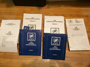 1986/87 Buick Manuals & other books