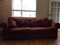 Large sofa for sale- needs to go by next Sunday due to moving house