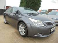 2009 59 TOYOTA AVENSIS 2.0 TR D-4D 4DR 125 BHP NEWER SHAPE (FACELIFT MODEL) DIE