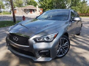 INFINITI Q50S 2015 NAVIGATION 360 CAMERA TECHPACK 417$/MOIS