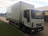 2008 Iveco Eurocargo 75E16 EUROCARGO BOX VANTAIL LIFT 2 door Day Cab