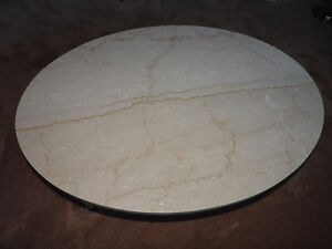 Antique White Marble Table Stratford Kitchener Area image 2