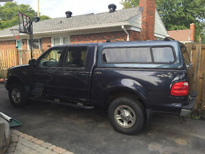 2001 Ford F-150 SuperCrew Lariat Pickup Truck AS IS