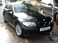 BMW 116 1.6 2007MY i ES OCTOBER 2017 MOT,5 DOOR, BARGAIN 2695
