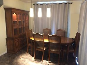 Complete dining room set - Priced to sell