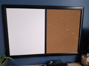 White board and bulletin board for sale