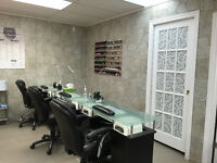 Furnished Salon and Spa for rent