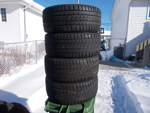 p245/45/18 inch Winter Tires / LOTS OF TREAD / GOOD DEAL