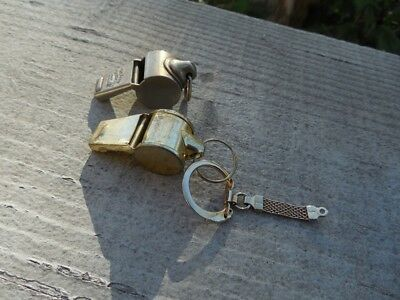 2 x VINTAGE WHISTLE THE ACME THUNDERER AND TAIWAN