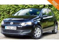 2012 62 VOLKSWAGEN POLO 1.2 S A/C 5D 60 BHP! 62.8MPG! DAB RADIO + USB + AUX IN!