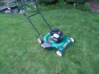 ((((((((Good Brigs and Stratton lawn mower for sale))))))