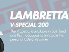 Lambretta V-200 SPECIAL Choice Of Colour Available