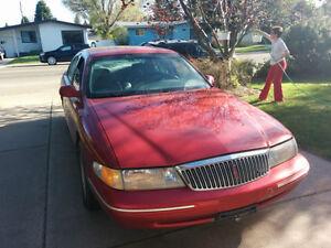 1996 Lincoln Continental Sedan