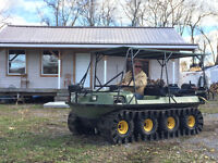 1987 Argo magnum 8x8 with tracks