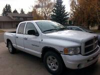 2005 Dodge Power Ram 1500 White Pickup Truck