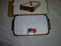 eu de hockey pneumatique sur table retro  air hockey table on re