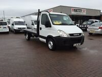 2012 Iveco daily 2.3 35s11 c/cab with new 12ft flat body £5495 j&ft&v