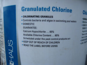 granulated chlorine