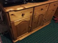 Pine sideboard /unit