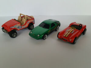 Vintage Hot Wheels (Set of 3 Cars)