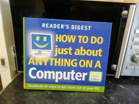 Computer hard back book