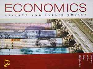 Economics. Private and Public Choice 13th edition West Island Greater Montréal image 2