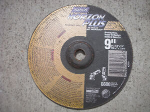GRINDING DISCS, GRINDING WHEELS, CUTTING DISCS, CUTTING WHEELS