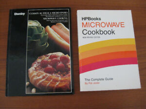 TWO MICROWAVE COOKBOOKS