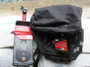 New Schwinn Rear Rack and Bell Saddle Bags