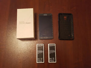 Used Samsung Note 4 with an Extra Battery Cambridge Kitchener Area image 1