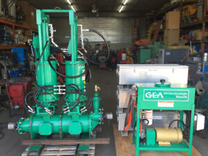 GEA Houle piston pump Sync 2 modular + hydraulic unit / Farm