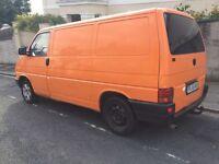 VW TRANSPORTER T4 ** 1.9 Diesel ** Orange ** Polish Plate ** Good Condition ** £1199