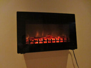 Fireplace Electric wall mount