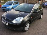 0505 Ford Fiesta 1.4TDCi Finesse Black 5 Door 66826mls MOT 12m £30 Road Tax