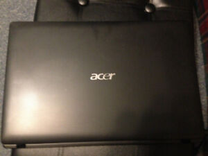 Acer Aspire laptop with windows 10