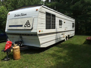 33 ft Golden Falcon RV Travel Trailer