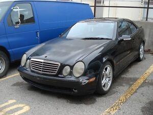 2002 Mercedes-Benz CLK-Class 430 AMG package Sedan