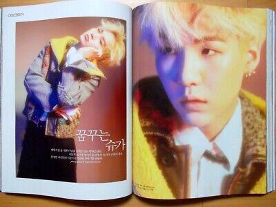 BTS SUGA Lee Jun Ki/whole magazine/Marie Claire Korea/ September 2016 Tracking
